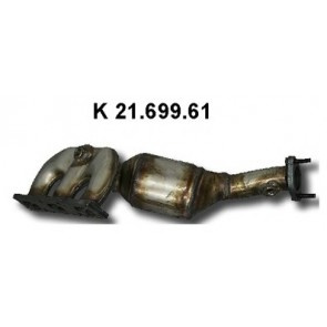 Katalysator links Bmw Z3 + Coupe 2000 tot 2003